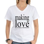 #7003. making love in every moment Women's V-Neck