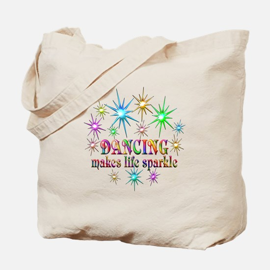 Dancing Sparkles Tote Bag