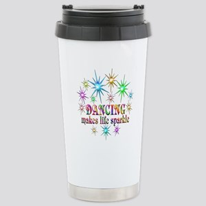 Dancing Sparkles 16 oz Stainless Steel Travel Mug