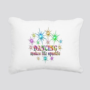 Dancing Sparkles Rectangular Canvas Pillow