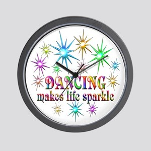 Dancing Sparkles Wall Clock