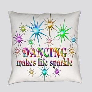 Dancing Sparkles Everyday Pillow