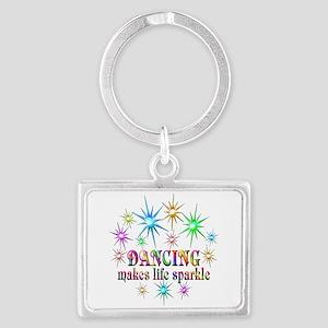 Dancing Sparkles Landscape Keychain