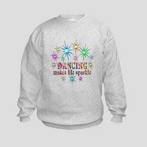 Dancing Sparkles Kids Sweatshirt