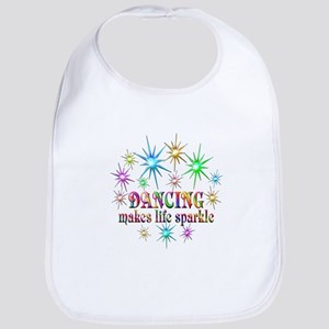 Dancing Sparkles Cotton Baby Bib