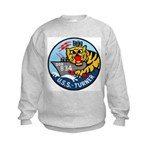USS Turner (DDR 834) Kids Sweatshirt