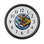 USS Turner (DDR 834) Large Wall Clock