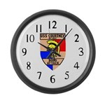 USS Courtney (DE 1021) Large Wall Clock