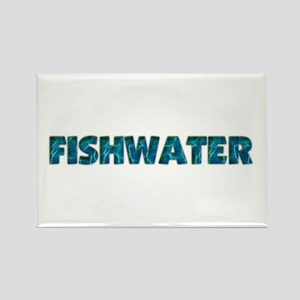 Mo' Fishwater Rectangle Magnet