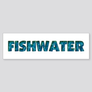 Mo' Fishwater Bumper Sticker