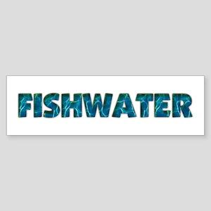 Mo' Fishwater Bumper Sticker