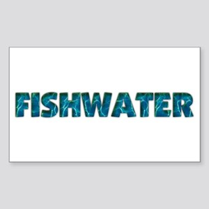 Mo' Fishwater Rectangle Sticker