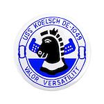 """USS Koelsch (DE 1049) 3.5"""" Button (100 pack)"""