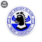 """USS Koelsch (DE 1049) 3.5"""" Button (10 pack)"""
