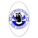 USS Koelsch (DE 1049) Oval Sticker (50 pk)