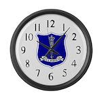 USS Norfolk (DL 1) Large Wall Clock