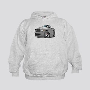 SRT10 Grey Truck Kids Hoodie