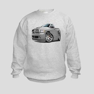 SRT10 Grey Truck Kids Sweatshirt