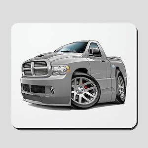 SRT10 Grey Truck Mousepad