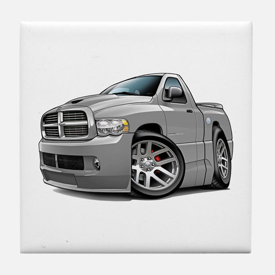 SRT10 Grey Truck Tile Coaster