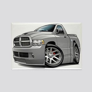 SRT10 Grey Truck Rectangle Magnet