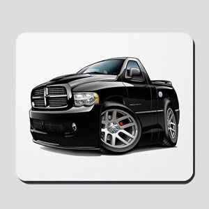SRT10 Black Truck Mousepad