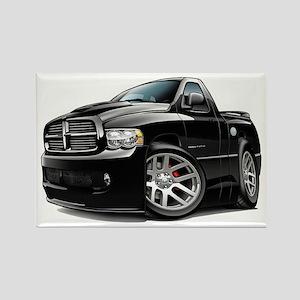 SRT10 Black Truck Rectangle Magnet