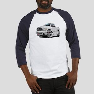 Dodge Ram White Dual Cab Baseball Jersey