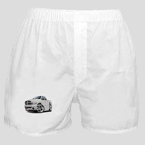 Dodge Ram White Dual Cab Boxer Shorts