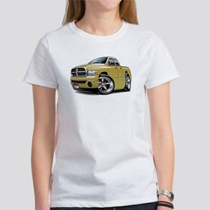 Dodge Ram Tan Dual Cab Women's T-Shirt