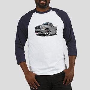 Dodge Ram Silver Dual Cab Baseball Jersey