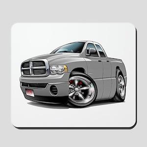 Dodge Ram Silver Dual Cab Mousepad