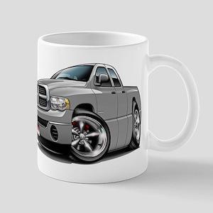 Dodge Ram Silver Dual Cab Mug