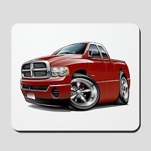 Dodge Ram Maroon Dual Cab Mousepad