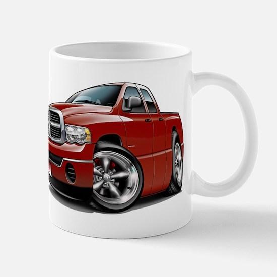 Dodge Ram Maroon Dual Cab Mug