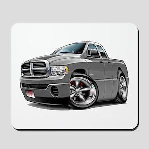 Dodge Ram Grey Dual Cab Mousepad