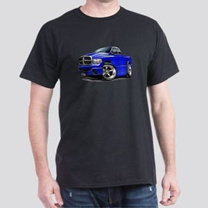 Dodge Ram Blue Dual Cab Dark T-Shirt