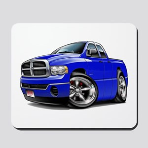 Dodge Ram Blue Dual Cab Mousepad