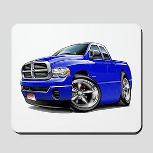 Dodge Ram Blue Dual Cab Mousepad