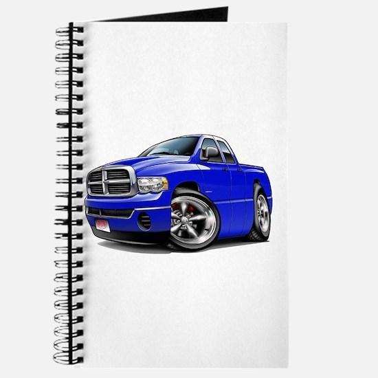 Dodge Ram Blue Dual Cab Journal
