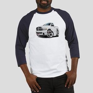 Dodge Ram White Truck Baseball Jersey
