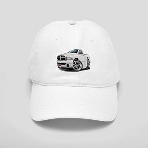 Dodge Ram White Truck Cap
