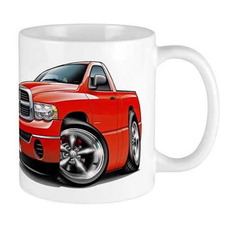 Dodge Ram Red Truck Mug