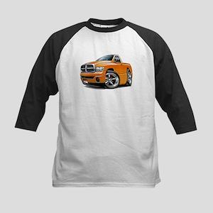 Dodge Ram Orange Truck Kids Baseball Jersey