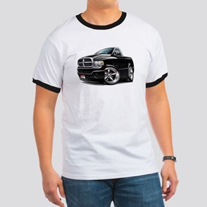 Dodge Ram Black Truck Ringer T