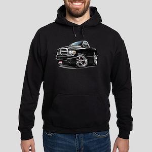 Dodge Ram Black Truck Hoodie (dark)