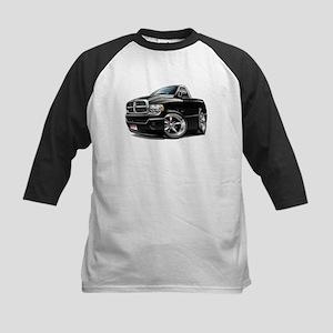 Dodge Ram Black Truck Kids Baseball Jersey