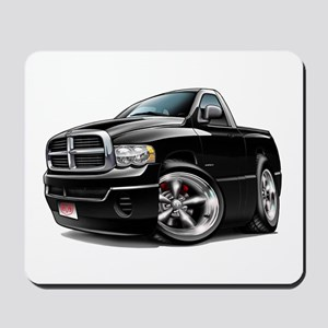 Dodge Ram Black Truck Mousepad
