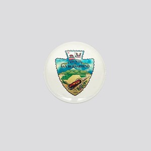 San Bernardino County Mini Button