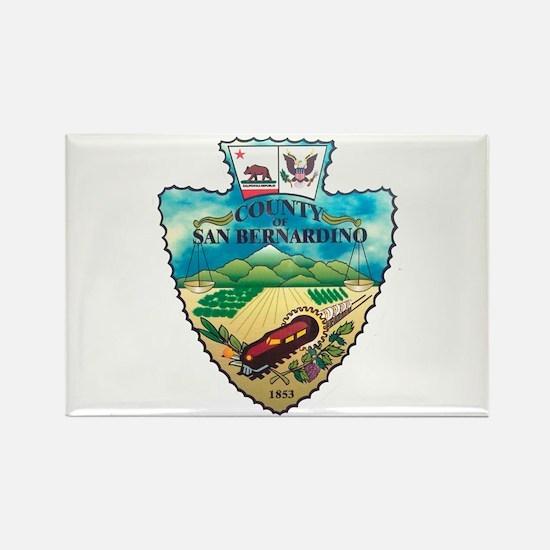 San Bernardino County Rectangle Magnet